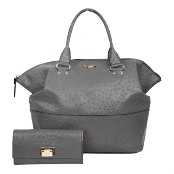 a6faac7dc220 kate spade Handbags - Kate Spade Windsor Blaine Tote Gray Leather